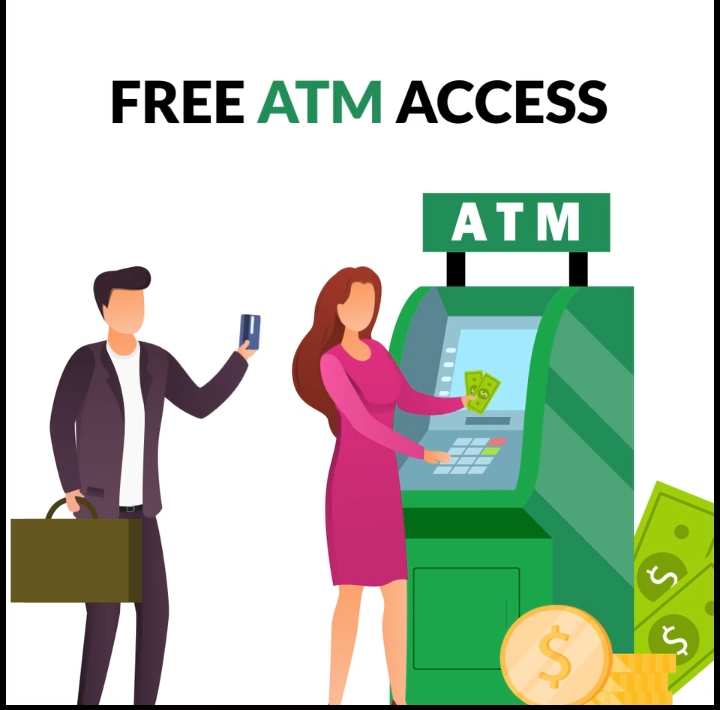 FREE ATM ACCESS