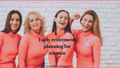 early retirement planning for woman
