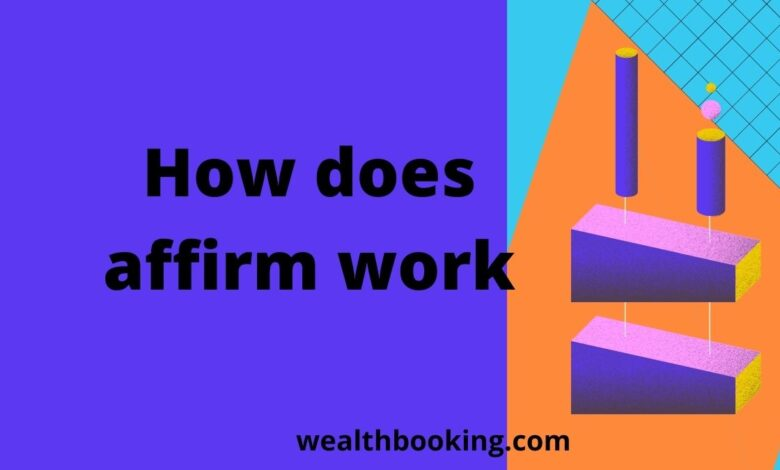 how does affirm work